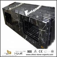 Buy cheap Black Marquina Marble Countertop for Home Bathroom Depot with Cheap Cost product