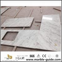 Buy cheap Diy River White Granite Stone Countertops For Kitchen Worktops From China Countertop Factory product