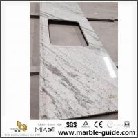 Buy cheap Popular River White Granite Slab Countertops For American Home Depot With Best Price product