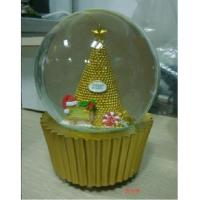 Buy cheap Christmas Musical White Snow Globe for Baby from wholesalers