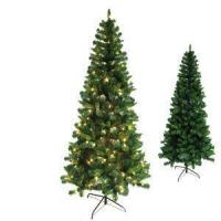 Buy cheap PVC Slim Pencil Xmas Tree with Metal Stand from wholesalers