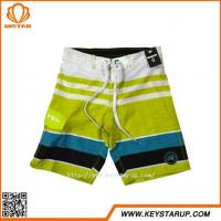 Buy cheap European Style 4 Ways Stretch Boys Swimming Trunks Best Quality Boardshorts for Teen Boy from wholesalers