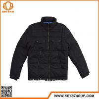 Buy cheap Four Pocket Jacket Pocket Inside Cloithes Black Fashion Coat from wholesalers
