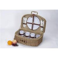 Buy cheap Picnic basket for 2/4/6 persons from wholesalers