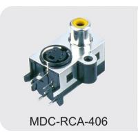 Buy cheap MINI DIN CONNECTORS/RCA JACK NAME:MDC-RCA-406 from wholesalers