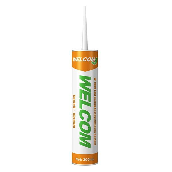 W-1000 Fast Curing Acetoxy Silicone Sealant - 50705272