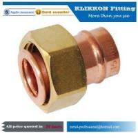 Buy cheap china French Copper Swivel Propane Tube Y T Tee Elbow Propane Compression Pipe Fittings from wholesalers