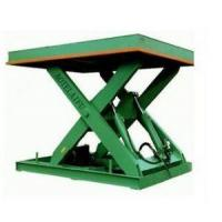 Buy cheap china Warehouse Used Hydraulic Scissor Goods Lifting Platform floor lift from wholesalers