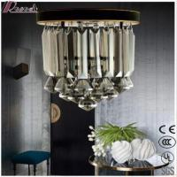 Buy cheap Decorative Modern Crystal LED Black Covers Pendant Ceiling Lighting Fixtures with Bathroom from wholesalers