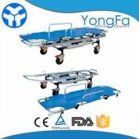 Buy cheap Adjustable Manual Patient Hospital Transport Aluminium Alloy Stretcher Trolley from wholesalers