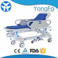 Buy cheap Emergency Adjustable Manual Patient Hospital Transport Stretcher Trolley from wholesalers