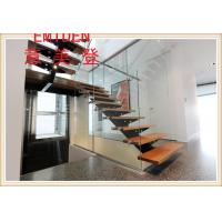 Buy cheap steel wood stair from wholesalers