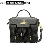Buy cheap New arrival hot selling luxury design lady handbag magic leaves splicing bag from wholesalers