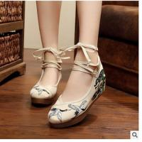 Buy cheap Chinese handmade embroidered shoes179 from wholesalers