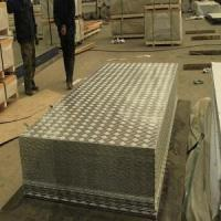 Buy cheap 1.5mm Thickness Embossed Aluminum Sheet Weight from wholesalers