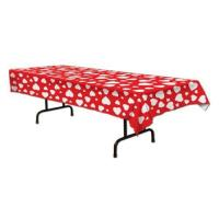 Buy cheap Beistle 70427 Heart Tablecover, 54 by 108-Inch, 1 Per Package from wholesalers
