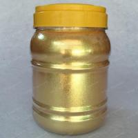 Buy cheap Crystal Gold Pearl Pigment from wholesalers