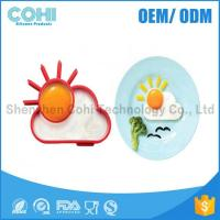 Buy cheap Sunny shaped food grade silicone egg cooking mold from wholesalers