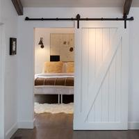 Buy cheap Stainless steel top track sliding barn door from wholesalers