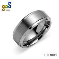 Buy cheap Black titanium wedding ring unique designs jewelry from wholesalers