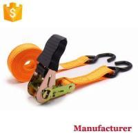Buy cheap 1 25mm Small Light Duty Rubber Handle Ratchet Cargo Lashing Straps Tie Down Belt with S Hooks from wholesalers