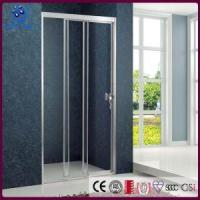 Buy cheap Framed Trackless 3 Sliding Bi Fold Shower Door ,48 inch Width, Chrome Finish (KD4101) from wholesalers