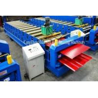 Buy cheap Corrugated IBR Sheet Roll Forming Machine Precision Within 1.00mm from wholesalers