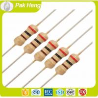 Buy cheap 1 OHM Carbon Thin Film Fixed PTC Resistors with 10% Resistance Tolerance from wholesalers