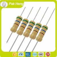 Buy cheap Reistor Array 4 Color Code Carbon Film Fixed Resistors with 5% Resistance Tolerance from wholesalers