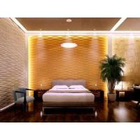 Buy cheap Plant Fiber Decorative Mural 3D Wallpaper 3D Wood Wall Panels for Home Deco from wholesalers