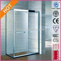 Buy cheap Bypass Sliding Shower Door with Handle and 3/8-Inch Crystal Clear Glass (KT5215) from wholesalers