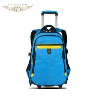 Buy cheap High School Student Wheeled Backpack Trolley Bag from wholesalers