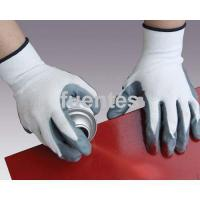 Buy cheap 5-37 nylon liner grey nitrile coated gloves from wholesalers