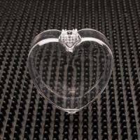 Buy cheap Small Heart Shaped Clear Plastic Jewelry Boxes  Item No. 510 $0.95 2 1/2 x 2 3/4 x 1 from wholesalers