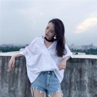 Buy cheap MIXUE Specoal design v-neck collar blouse from wholesalers