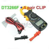 Buy cheap M041 DT3266F Voltage ACV DCV Current ACA Ohm Resistance Digital Clamp Multimeter Meter Tester from wholesalers
