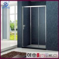 Buy cheap Products Cheap Alcove 3 Sliding Bi Fold Shower Screen ,Chrome Finish (KD4001) from wholesalers
