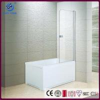 Buy cheap Frameless Pivot Bathroom Tub Shower Door,1/4 Clear 2 Panels (KD3201T) from wholesalers