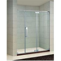 Buy cheap Frameless Hinged Shower Screen, 60 in. Width, 8mm To 10mm Clear Glass, Chrome Finish (KD3603) from wholesalers