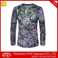 Buy cheap OEM custom make your own design 3D sublimation print t shirt wholesale from wholesalers