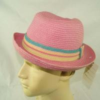 Buy cheap Pink kids plain or custom printed bucket hat from wholesalers
