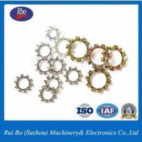 Buy cheap ODM&OEM High Quality Fastener DIN6797A External Teeth Washer with ISO from wholesalers