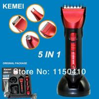 Buy cheap KEMEI 5IN1 HAIR TRIMMER WASHABLE from wholesalers