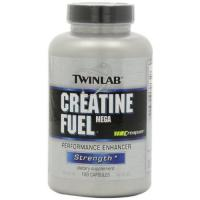 Buy cheap Twinlab Creatine Fuel Mega Performance Enhancer, Strength, 120 Capsules from wholesalers