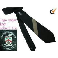 Buy cheap Customized School Boy's Or Girl's Regular Or Elastic Adjustable Or Velcro Necktie With Logo Or Witho from wholesalers