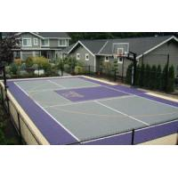 Buy cheap Sport Court Tiles IdealTiles Used Outdoor and Indoor Rubber Flooring Sport Court Tiles for Backyard from wholesalers