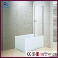 Buy cheap Frameless Pivot Glass Tub Shower Door, 1/4-Inch Clear Glass, Chrome Finish (KD3201T) from wholesalers