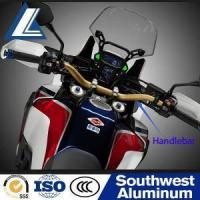 Buy cheap Aviation Grade Aluminum Custom 7/8 Black Motorcycle Handlebars from wholesalers