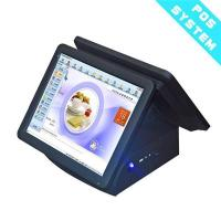 Buy cheap Promotion 15 Inch Dual Screen Restaurant Cash Registers/POS System/cashier Machine Double Touch Scre from wholesalers