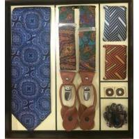 Buy cheap Men's Tie and Hanky and Boutineer and Cufflinks and Suspenders Special Necktie Gift Set from wholesalers
